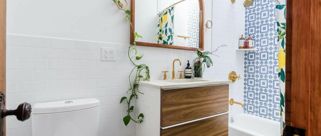 smukt badeværelse